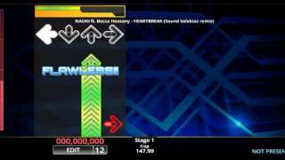 [DDR EDIT] HEARTBREAK (Sound Selektaz remix) / NAOKI feat. Becca Hossany (Lv. 12)