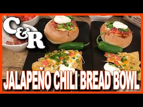 Jalapeño Chili Bread Bowl Recipe