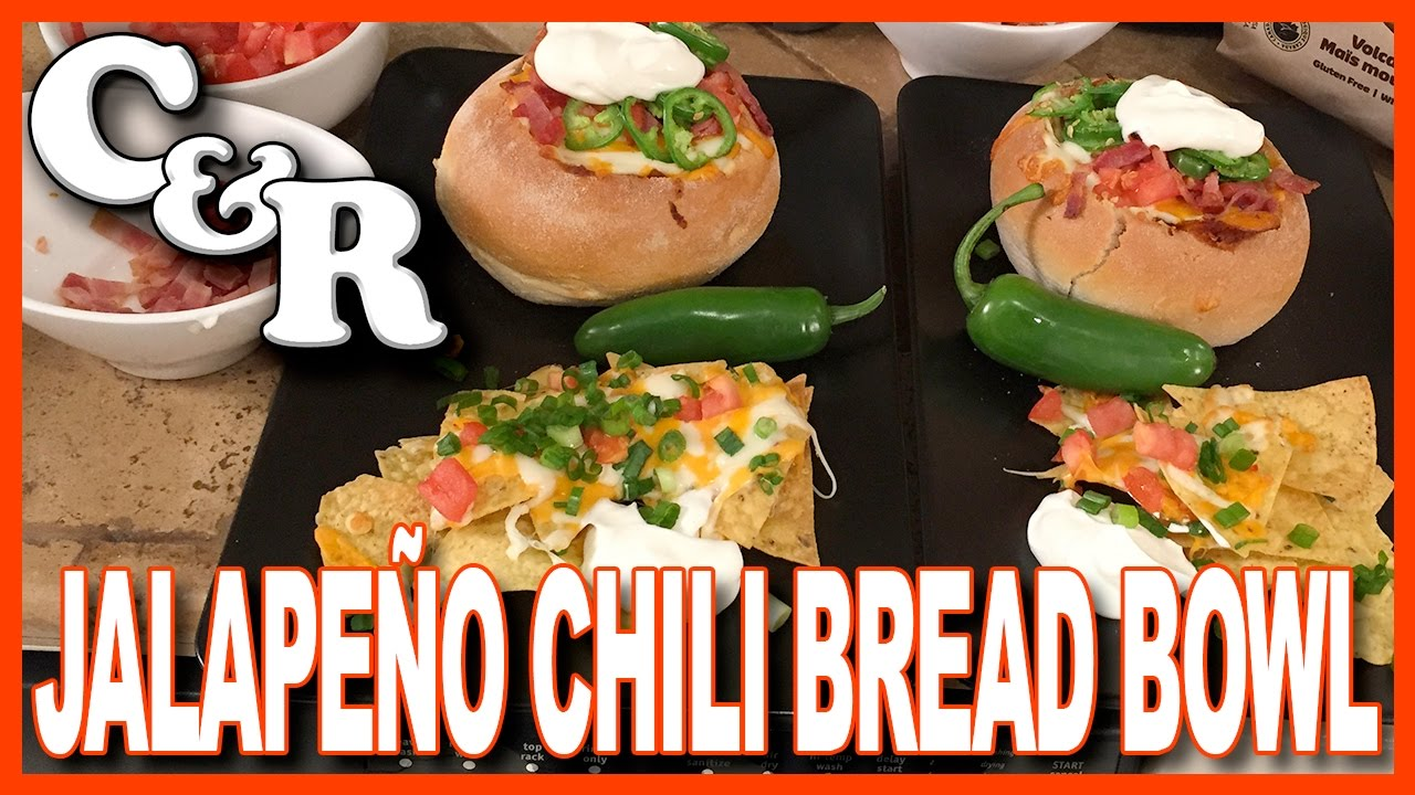 Jalapeno Chili Bread Bowl Recipe Cook Review Ep 29 Youtube