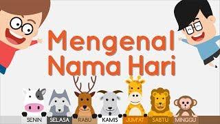 Belajar Nama Hari Bahasa Inggris dan Indonesia   Eza dan Adi
