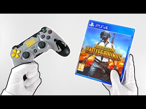 PUBG on PS4... Unboxing PlayerUnknowns Battlegrounds + Gameplay