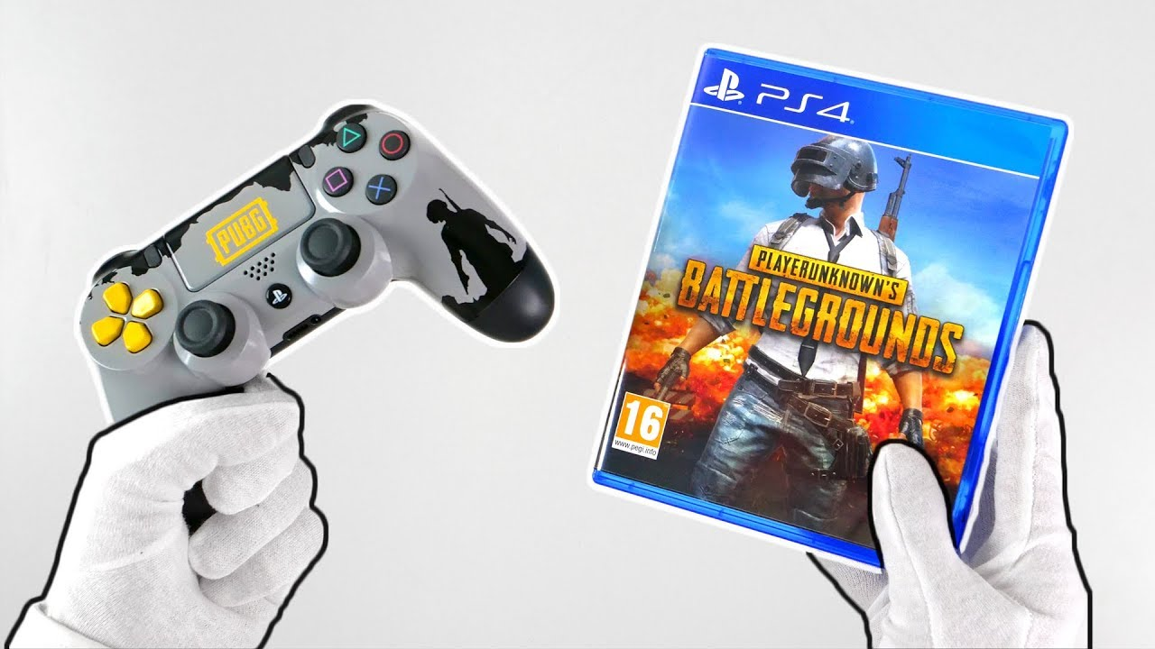 Pubg On Ps4 Unboxing Playerunknown S Battlegrounds Gameplay