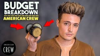 Is American Crew Any Good? | Budget Breakdown | Men's Hair Products | BluMaan 2018
