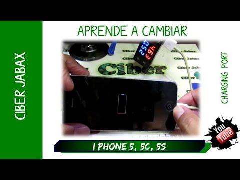 Cambiar Puerto Carga Iphone