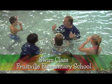 Education Spotlight-Fruitville Elementary School-Swim Class