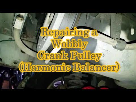 Replacing Harmonic Balancer - 97+ 40L Jeep XJ (Crank Pulley)