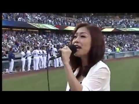 [MLB] Lena Park(박정현) - US National Anthem(미국국가) & 애국가(Korea National Anthem) 메이저리그
