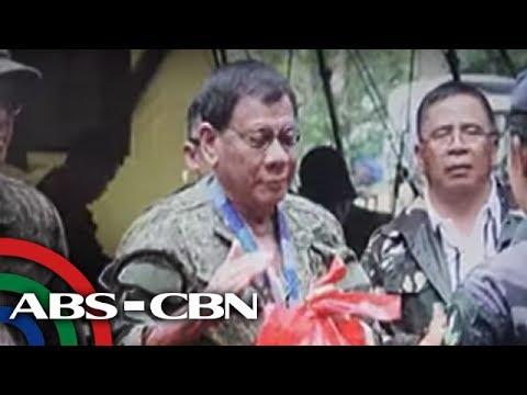 Bandila: Duterte, bumisita sa Marawi