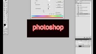 Tutorial photoshop cs - letras tipo NEON -