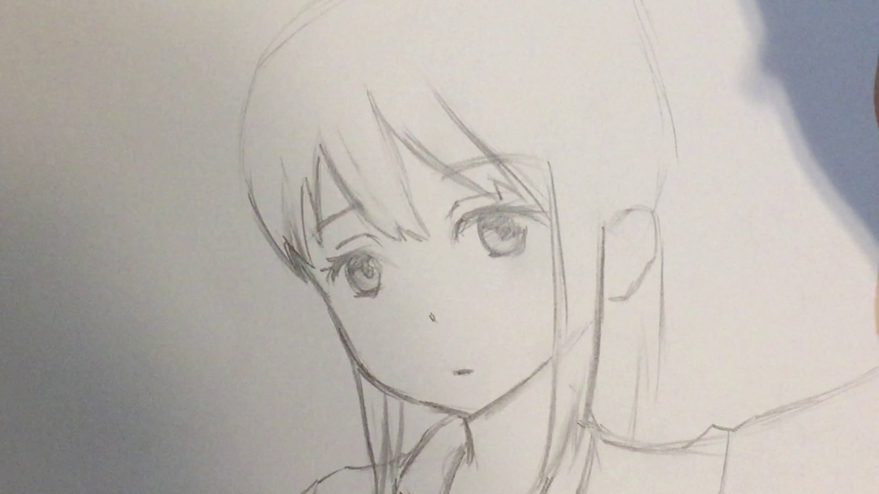 Drawing Sketches Anime