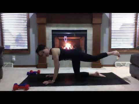 Empower Yoga With Weights With Sherna