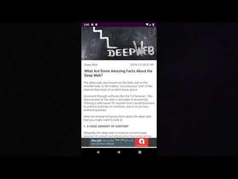Dark Web - Enreto - Apps on Google Play