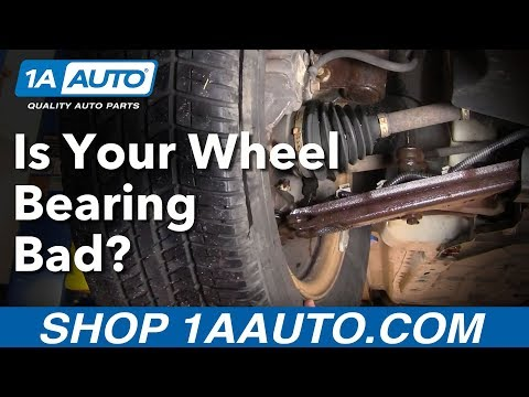 How Do I Tell If I Have a Bad Front Wheel Bearing Hub Assembly?