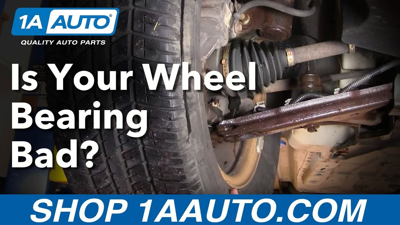 How Do I Tell If I Have a Bad Front Wheel Bearing Hub Assembly? Buy quality auto parts at 1aauto