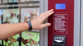 Видео инструкция покупка продукции Conte в аппаратах по продаже колготок