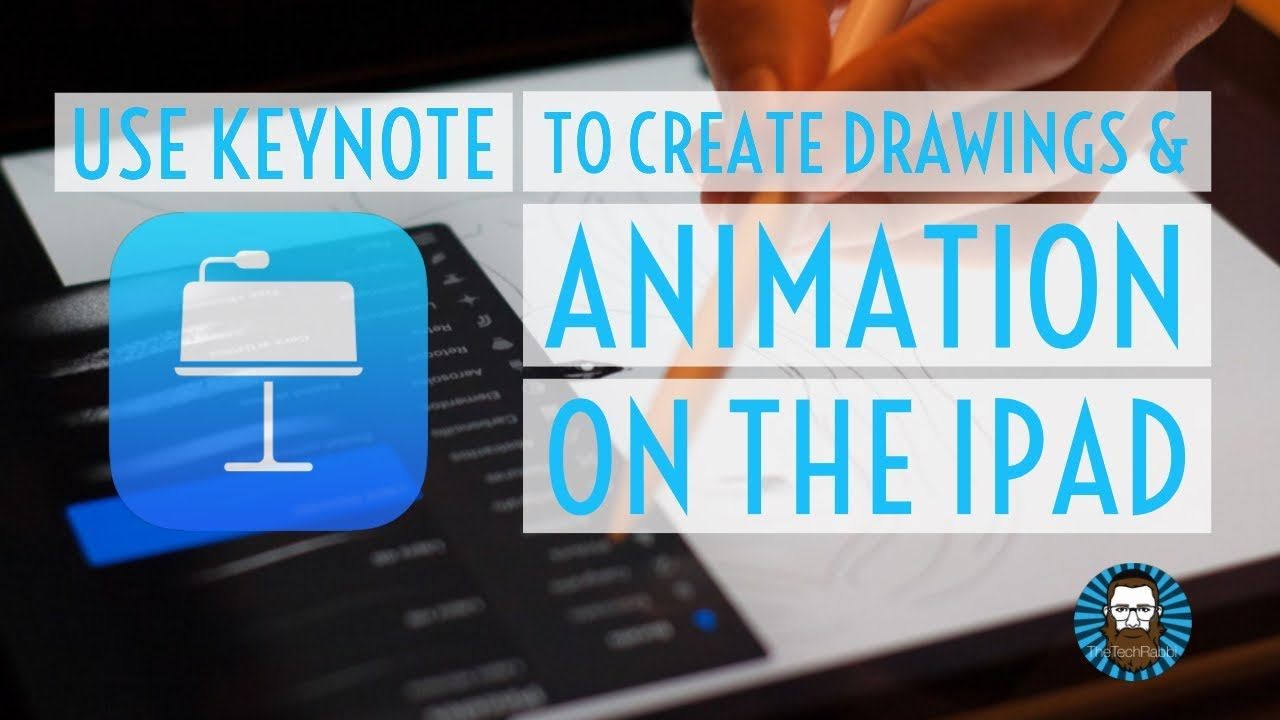 Use Keynote to Create Drawings & Animation on the iPad