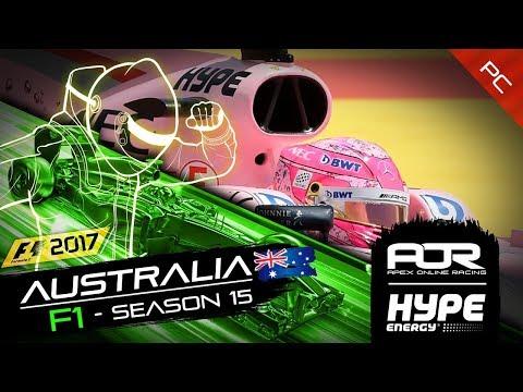 F1 2017 | AOR Hype Energy F1League | PC | S15 | R1: Australian GP