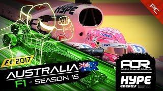 F1 2017 | AOR Hype Energy F1 League | PC | S15 | R1: Australian GP