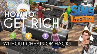 Sims free play  lp and lots of money