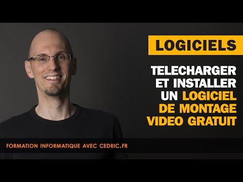 Logiciel de montage video gratuit - Installation