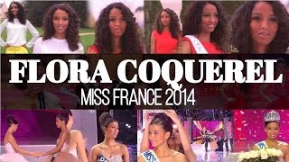 Flora Coquerel (Top 5 Miss Universe 2015) in Miss France 2014