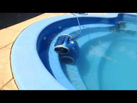 Zodiac 4WD V3 Vortex Aquabot Robotic Robot Automatic Swimming Pool Cleaner in action