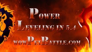 Fastest Battle Pet Leveling Guide Wow 1-25 5.4 11 Minutes!  Wowpetbattle.com