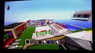 Minecraft World Tour: Stores and Restaurants