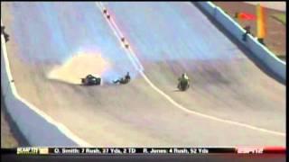 Joe Desantis Lays the Bike Down PSM Qualifying  Big O Tires Nationals Las Vegas 2011.mpg
