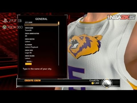 nba 2k16 how to use the player you created