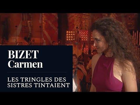 """BIZET : Carmen """"Les tringles des sistres tintaient"""" (d'Oustrac) [HD]"""