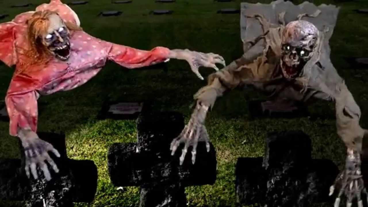 clawing cathy carl animated props halloween decorations trendyhalloweencom