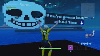 Undertale Megalovania | Fortnite Creative Island (with code)