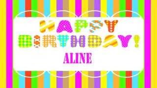 AlineEnglish pronunciation   Wishes & Mensajes - Happy Birthday