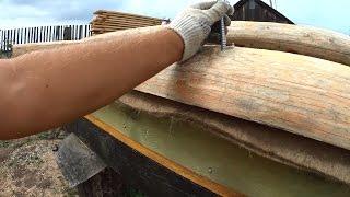 Сруб бани из бревен своими руками: сборка (фото и видео)