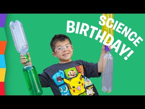 THE BEST SCIENCE BIRTHDAY PARTY! See how we made it happen!!!