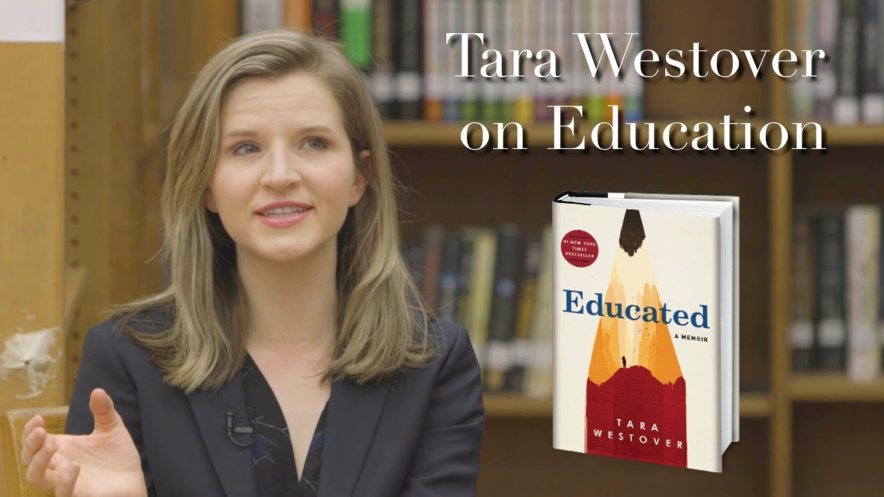 Tara Westover Visits a High School Classroom to talk about Education