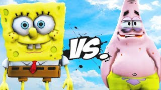 SPONGEBOB VS PATRICK STAR - EPIC BATTLE
