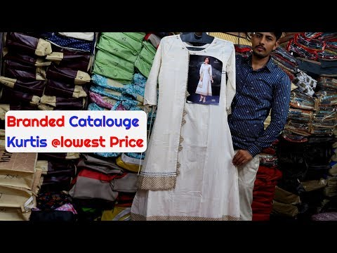 Branded Kurtis Catalouge At Half Price, Surat Wholesaler
