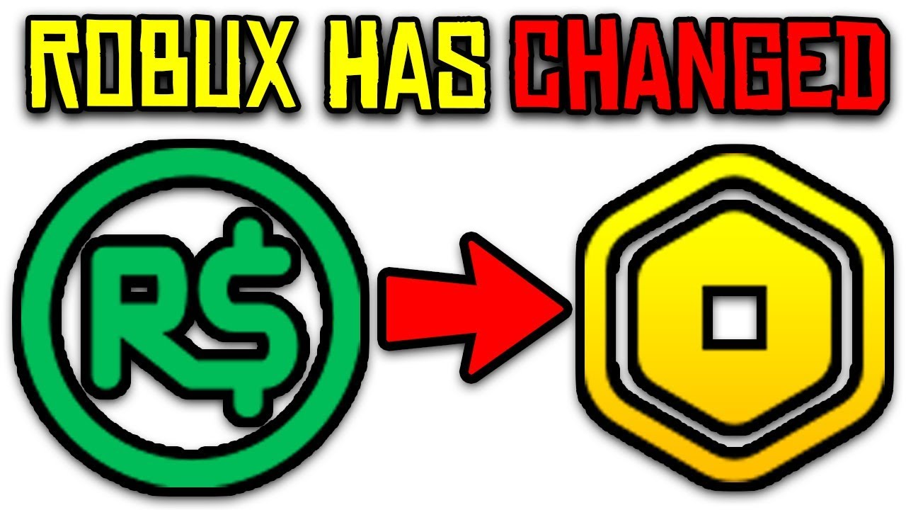 Roblox Changing Robux To Rocoins New Robux Logo Youtube