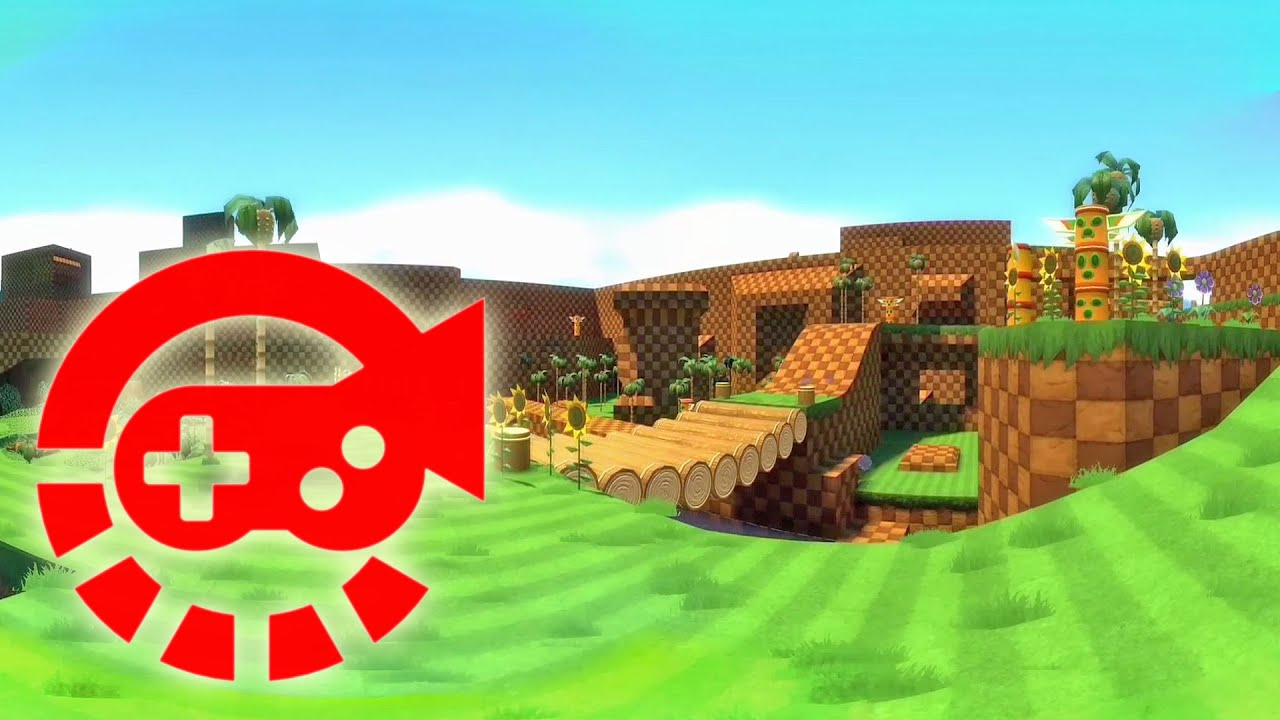 360 Video - Sonic, Green Hill Zone GMod