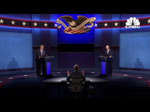 Joe Biden and President Donald Trump spar in first debate: 'Will you shut up, man?'