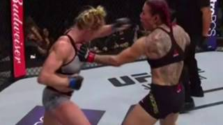 Cris Cyborg vs Holly Holm Full Fight Review: Cyborg DEFEATS A Game Holly Holm