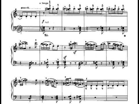 Béla Bartók - Mikrokosmos - 146. Ostinato (w/ score)