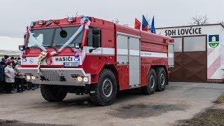 POŽÁRY.cz: Tatra Force od Kobitu dorazila do Lovčic na Královéhradecku