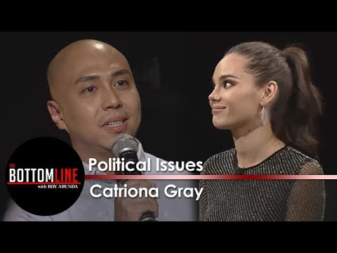 The Bottomline: Catriona on politically charged subjects