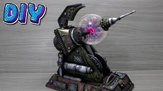 DIY Canhão de Plasma Steampunk.