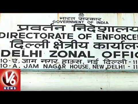 Directorate Of Enforcement Raids On 300 Companies In 16 States | 2 Arrested | V6 News