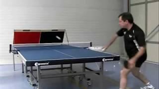 Eight table tennis exercises