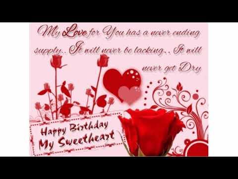 105 happy birthday sweetheart